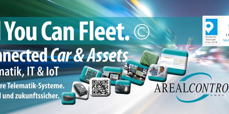 AREALCONTROL GmbH: GPS Ortung, Fahrzeugortung, Telematik für Flotten- und Fuhrpark-Management