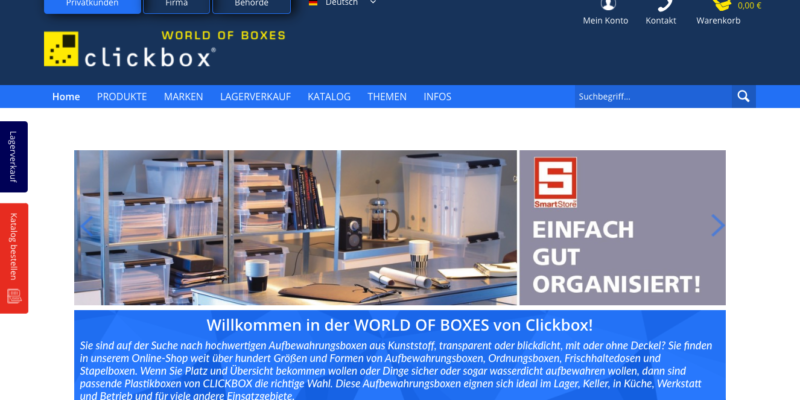 CLICKBOX – World of Boxes