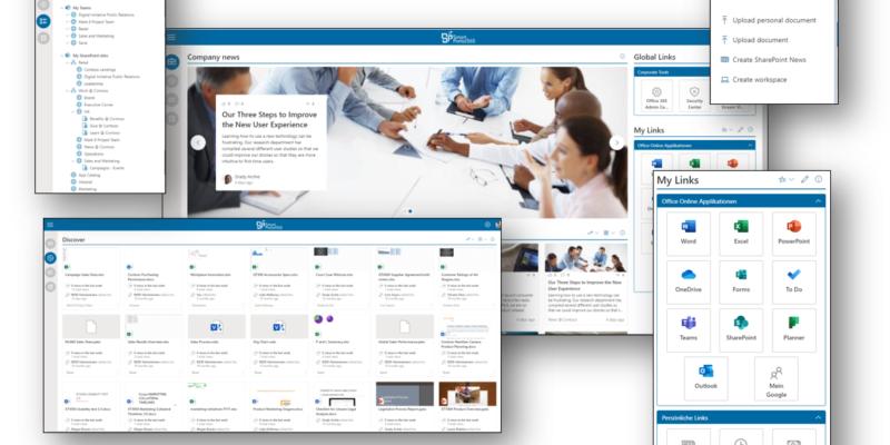 Digitaler Arbeitsplatz revolutioniert – Smartportal365, das Portal für ihren digitalen Arbeitsplatz