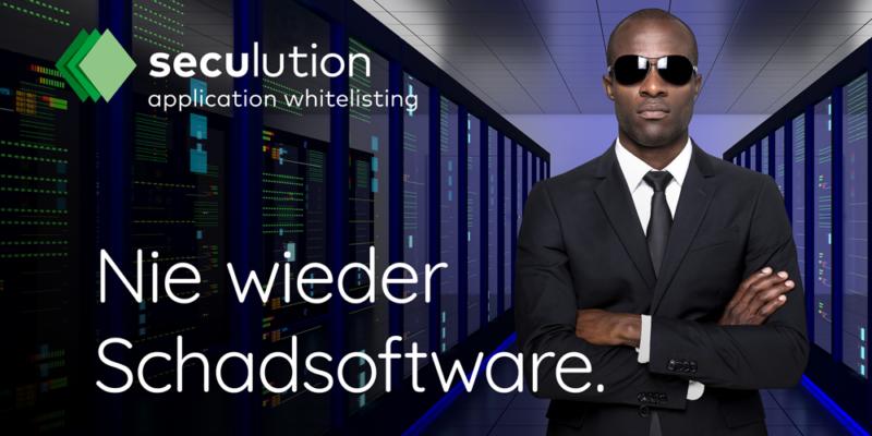 Seculution – Application Whitelisting Virenschutz für Unternehmen