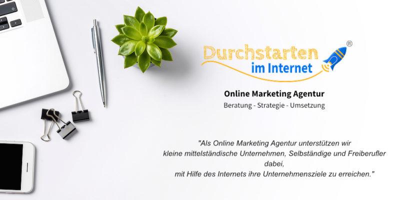 Durchstarten im Internet e.K. – Online Marketing Agentur